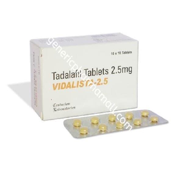 Vidalista 2.5mg Buy Online