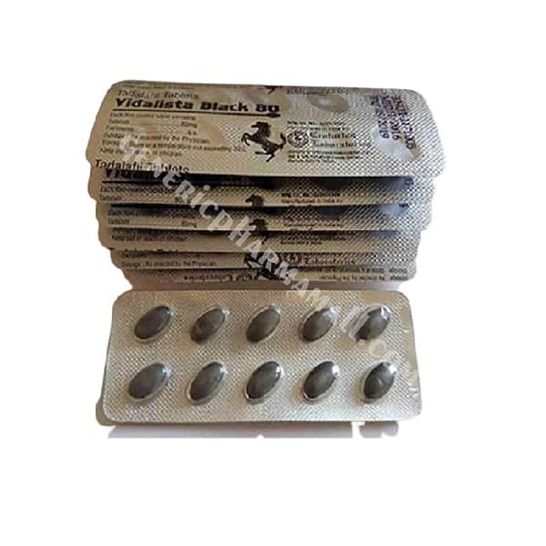 Vidalista Black 80mg: Tadafil 80mg | Reviews | Uses | Price | Side Effects