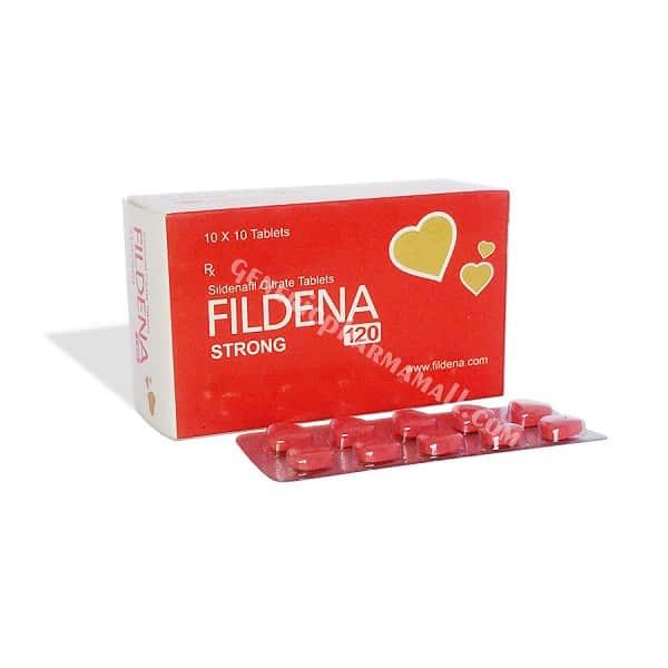 Buy Fildena 120mg: Erectile Dysfunction meds| Reviews |Doses | ✔Quality