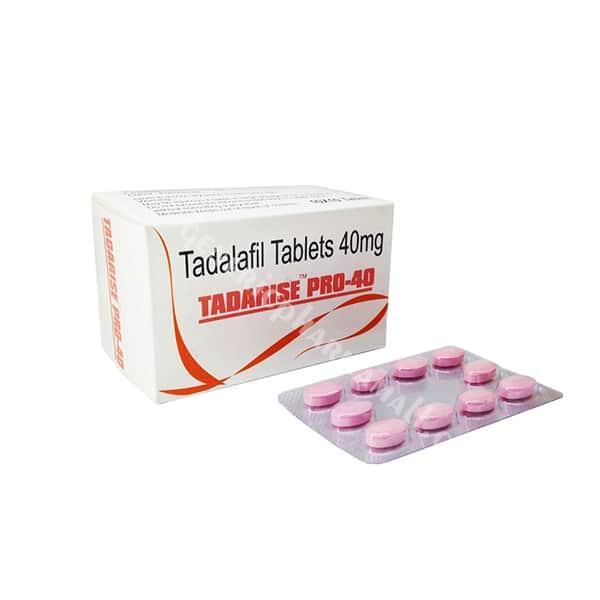 Tadarise Pro 40mg buy online