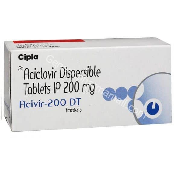 Acivir DT 200mg buy online