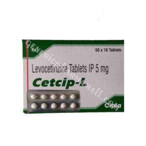 Cetcip L 5mg buy online