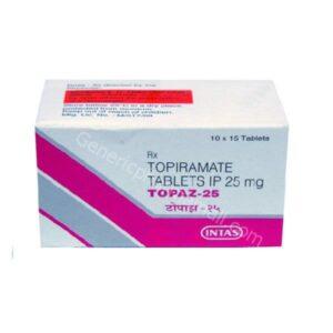 Topaz 25mg buy online