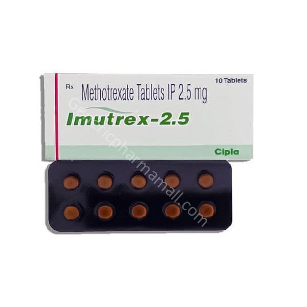 Imutex 2.5mg buy online