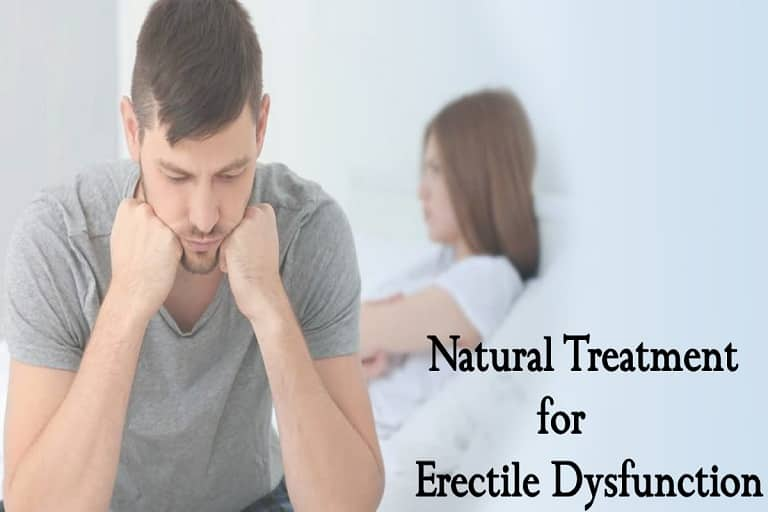 Natural Treatment for Erectile Dysfunction