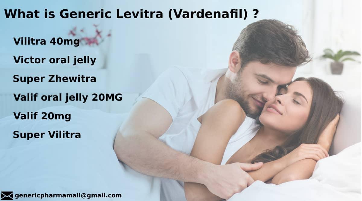 Vardenafil |Generic Levitra/Staxyn| Uses | Side Effects | Precaution |Dosage